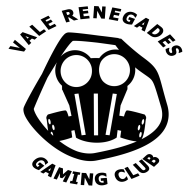 Vale Renegades logo (arched text CAPS and black and white) (1)